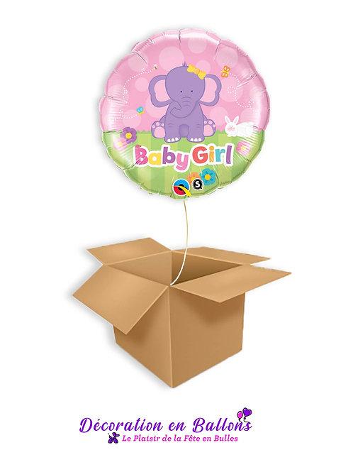 Ballon Baby Girl éléphant