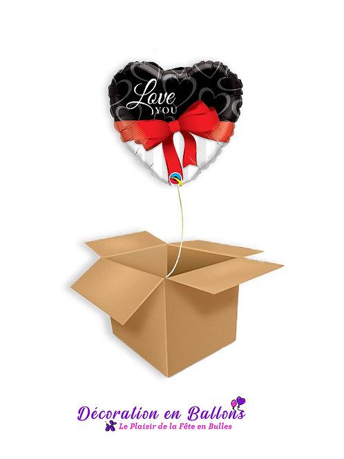 """Ballon """" Coeur Love You"""""""