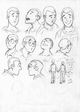 Estudos para Carlos e Beto-rostos.jpg