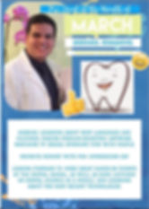 Pre Dental Student of the Month March.jp