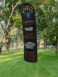 mockup-of-a-flag-banner-on-a-grassy-area