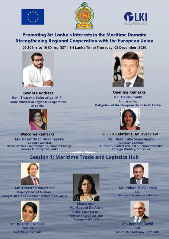 Virtual Conference: Promoting Sri Lanka's Interests in the Maritime Domain