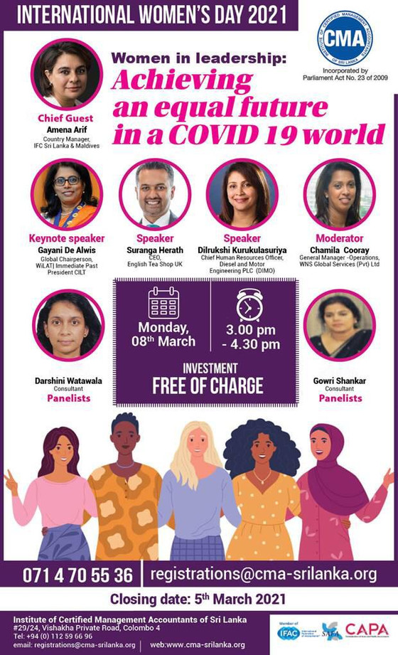 Women in leadership: Achieving an equal future in a COVID 19 world