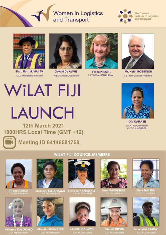 WiLAT Fiji Launch - 12th March 2021