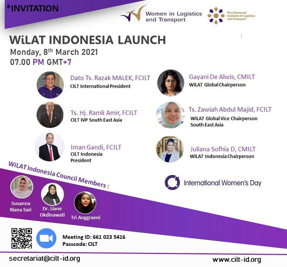 WiLAT Indonesia launch on 8th March