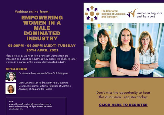 Empowering Women in a Male Dominated Industry 20th April 2021