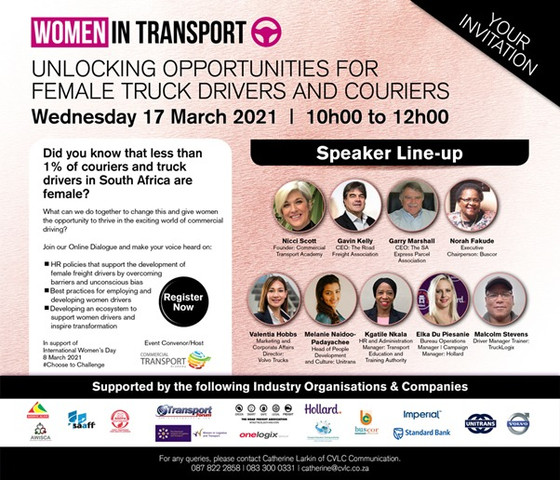 Unlocking Opportunities for female truck driver and couriers