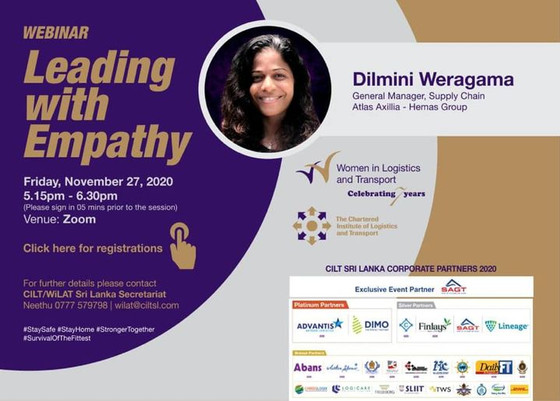 "WiLAT Sri Lanka Webinar ""Leading with Empathy"""