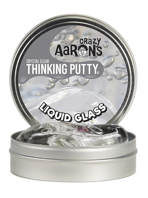 Liquid Glass Crazy Aaron thinking putty