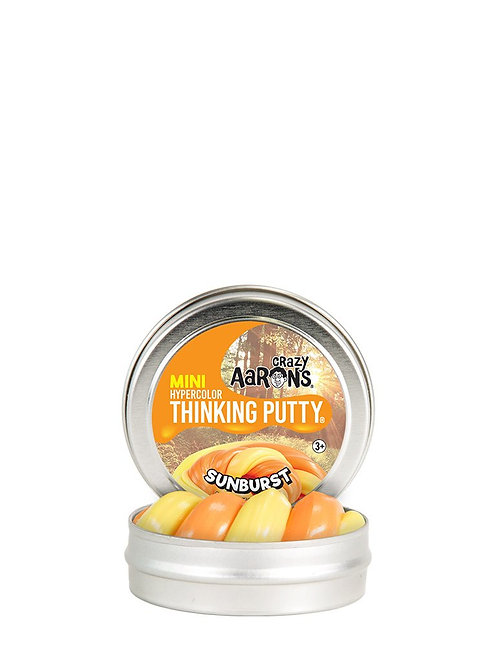 Mini Sunburst Crazy Aaron thinking putty