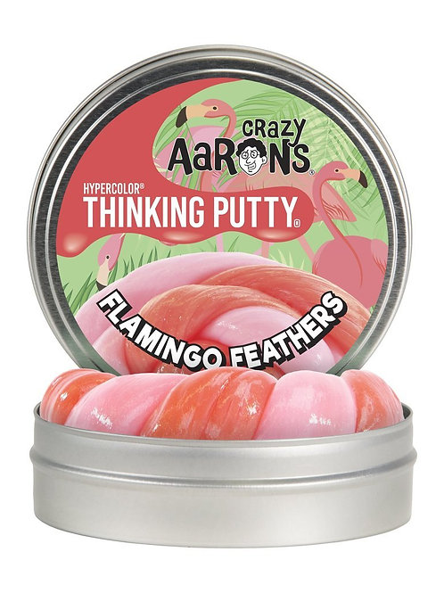 Flamingo Feather Crazy Aaron thinking putty