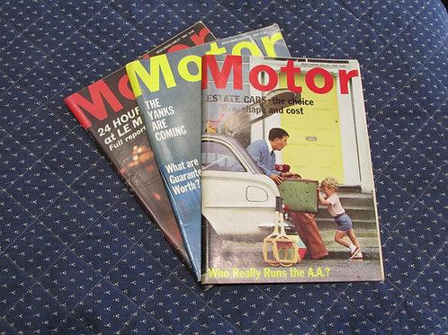Motor Magazines 1963-1964