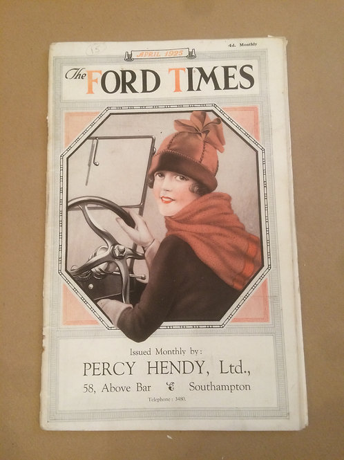 Ford Times - April 1925