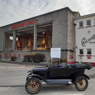 The distillery tour x 7!!