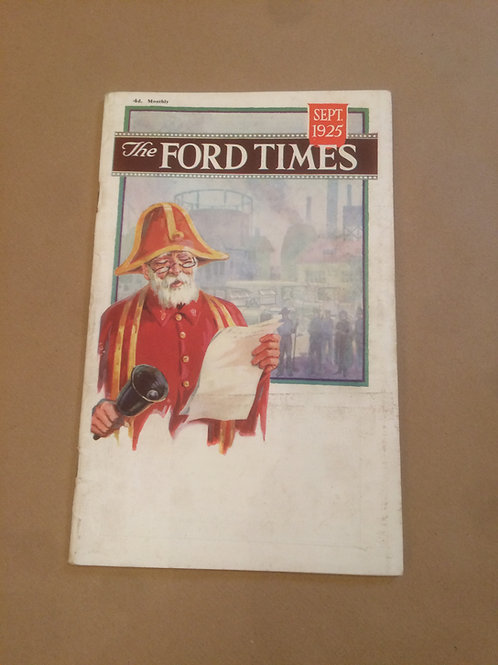 Ford Times - Sept 1925