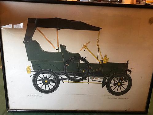 Ford Car 1906 Artwork