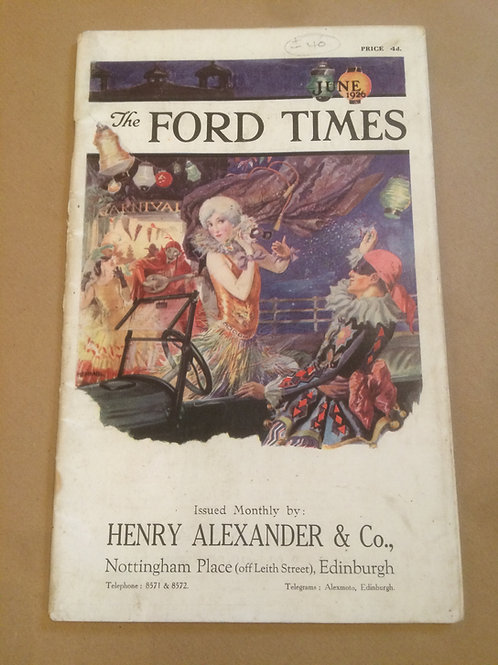 Ford Times - June 1926