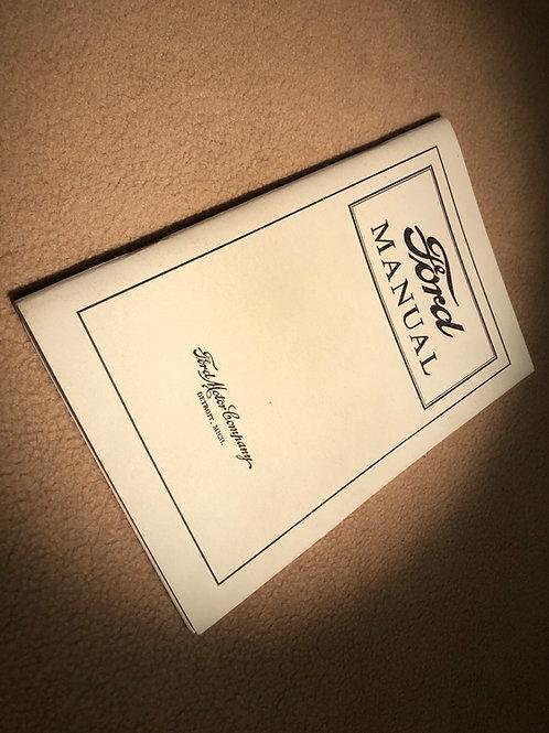T3 Reprint Instruction Book