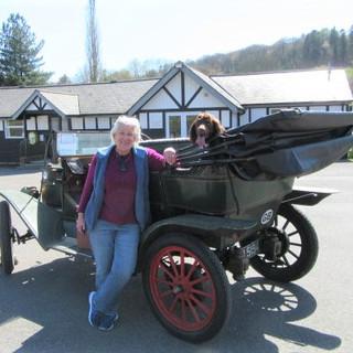 Hetty at Village Hall