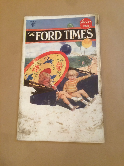 Ford Times - August 1925