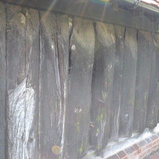 Greensted Church, 11th century timbers