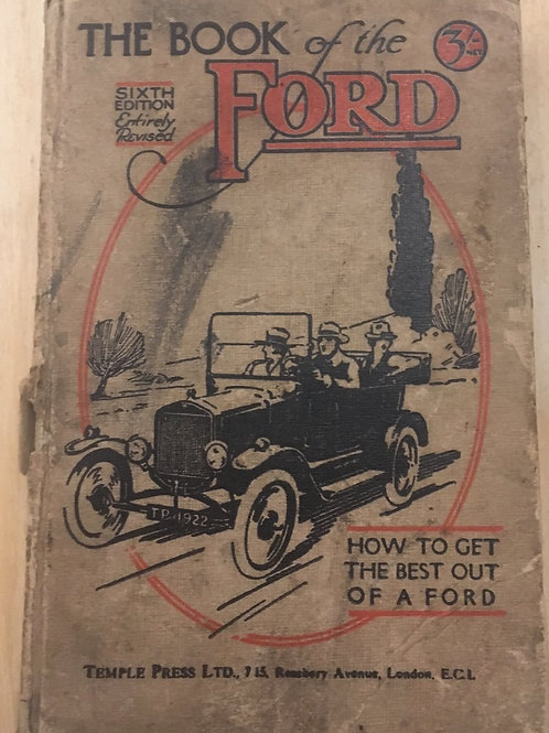 The Book of the Ford 1921 Nicholson 6th ed