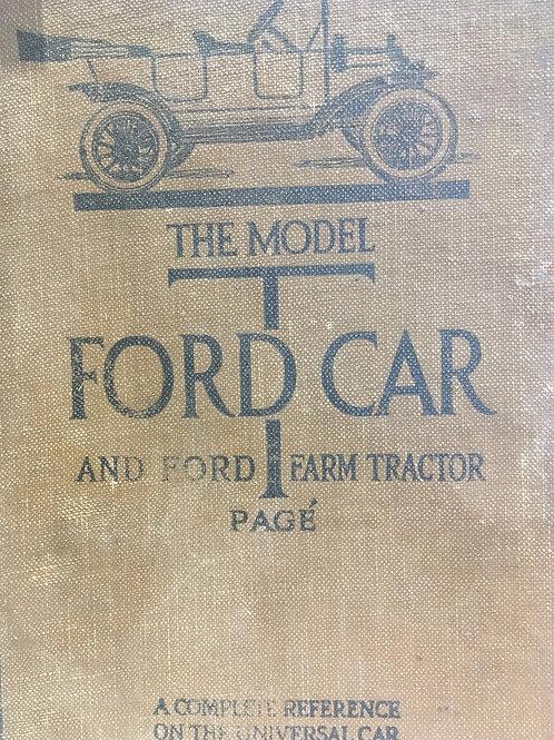 Original Model T Ford Car & Farm Tractor Page 1919