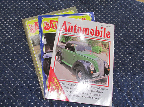 The Automobile Magazines 1982-2002