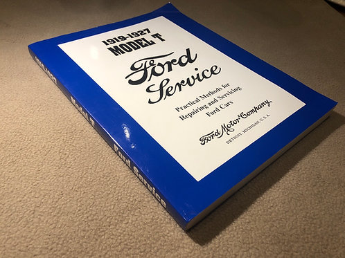 1919-1927 Model T Ford Service