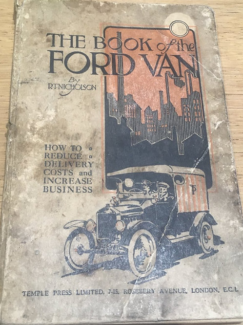 The Book of the Ford Van 1921 2nd ed