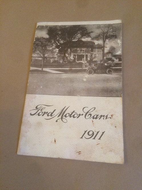 1911 Sales Booklet