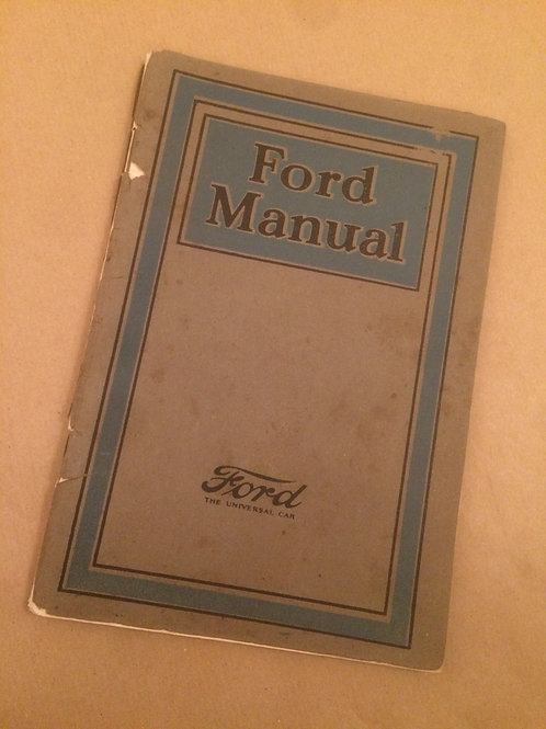 Ford Manual 1925