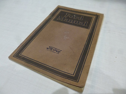 FORD MANUAL 1923