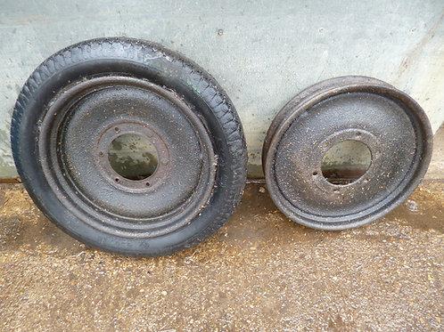 Michelin Disk Wheels x 2