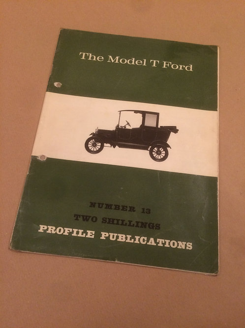 The Model T Ford Booklet
