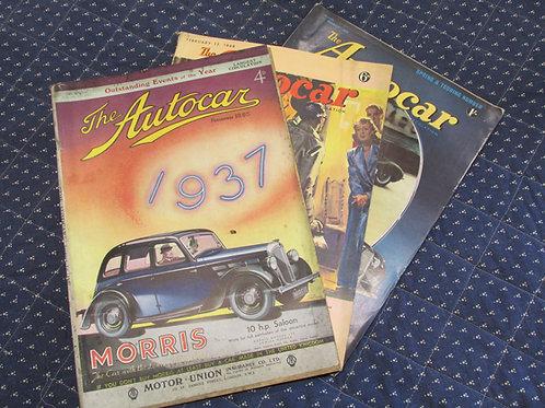 The Autocar Magazines 1932-1955
