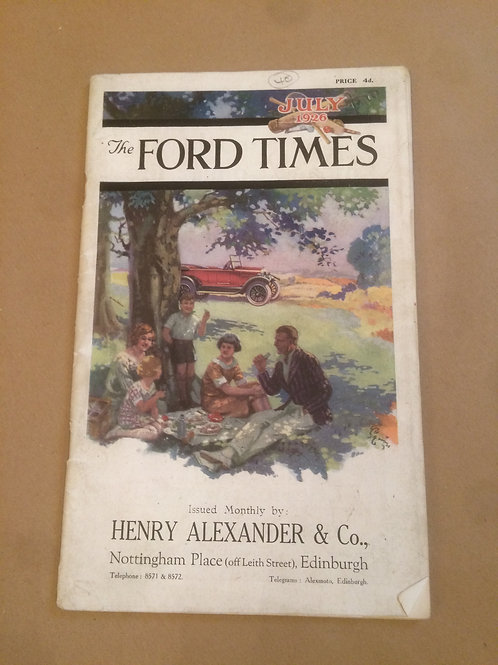 Ford Times - July 1926
