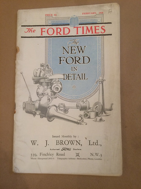 Ford Times - February 1928