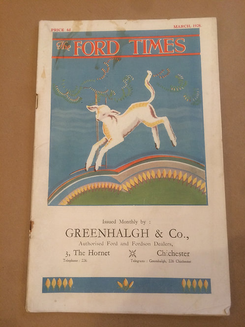 Ford Times - March 1928