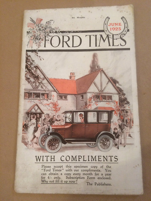 Ford Times - June 1925