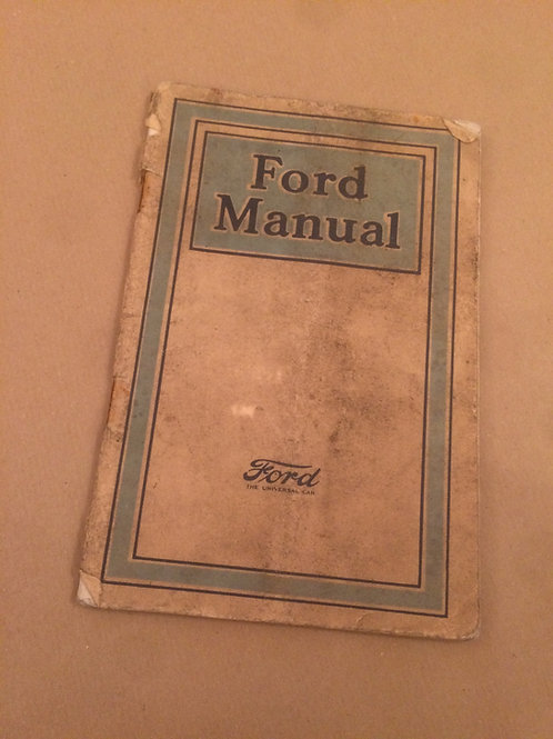Ford Manual 1921
