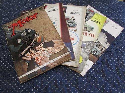 The Motor Magazines 1921-1962