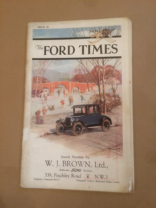 Ford Times - January 1927