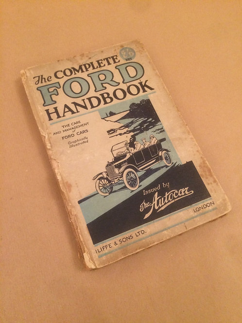 The Complete Ford Handbook
