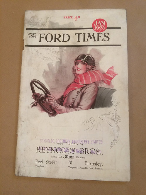 Ford Times - January 1926