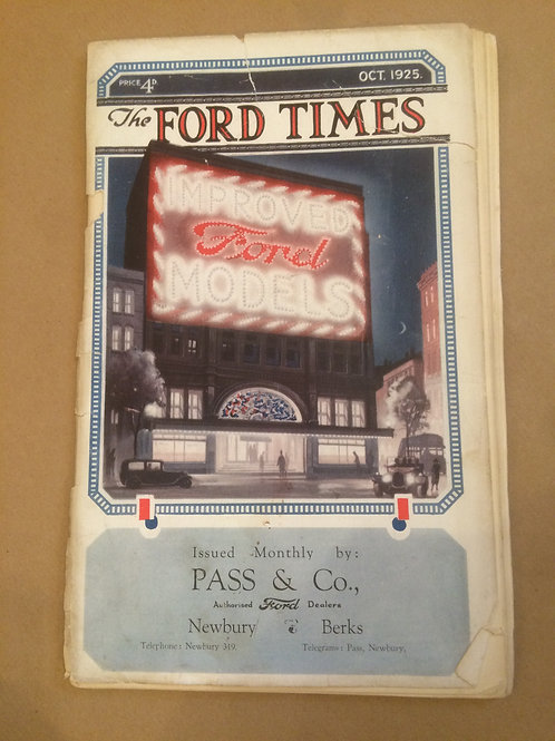 Ford Times - October 1925