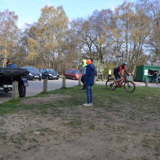 At the tea wagon, Epping Forest