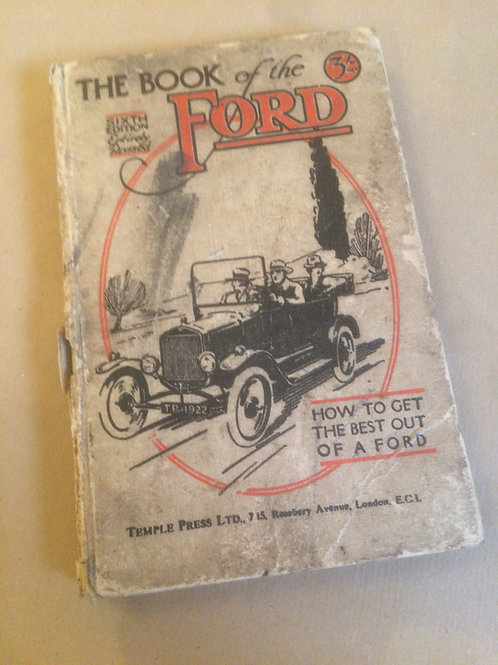 Book of the Ford - 6th Ed.