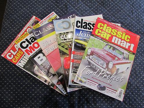 Classic Car Magazines 2006-2017