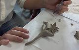 massa de papel para fabricação de paperclay